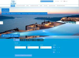 Conception de site Look Voyage Maroc Site de booking